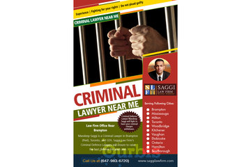 Saggi Law Firm in BRAMPTON: Criminal Lawyer Near Me