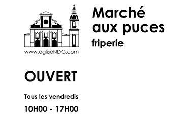 Marché aux Puces - Eglise NDG