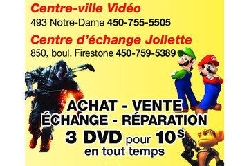 CENTRE D'ECHANGE JOLIETTE (JEUX VIDÉO) à Joliette: 2 magasins