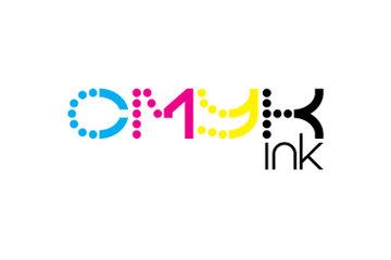 CMYK ink.