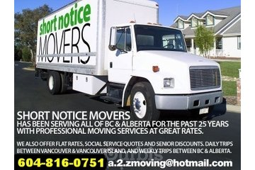 Short Notice Moving Company