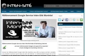 Référencement Google Service Inten-Sité Montréal