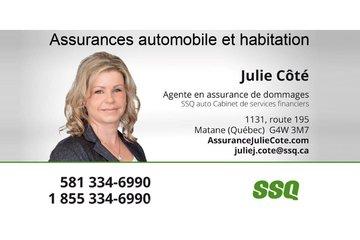 Assurances Julie Côté, agente en assurance de dommages affiliée à SSQ
