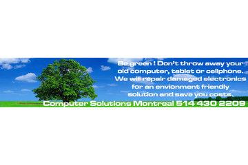 Laptop repair | Computer repair | Computer Solutions Montreal à Montréal: Computer repair Montreal