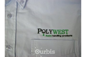 Foothills Custom Promotionals in High River: Embroidery Company Button Up Shirt