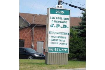 Usinage Mobile sur Place J P D à Longueuil