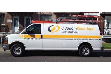 J Jodoin Electrique à Montréal: Nouveau camion, nouveau logo, nouvelle image!