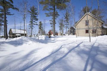 Le Village Windigo à Ferme-Neuve: Chalets at Windigo