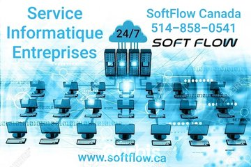 Service informatique SoftFlow Canada IT services 24/7