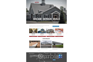 Outrageous Creations à Newmarket: Website developed for Stonewood Construction Management Inc in Barrie, Ontario