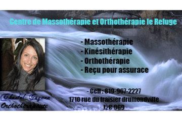 Clinique de Massothérapie et Orthothérapie le Refuge