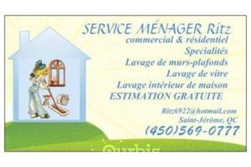 SERVICE MÉNAGER RITZ