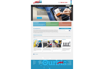 Outrageous Creations à Newmarket: Website developed for Thermocool Mechanical in Etobicoke, Ontario