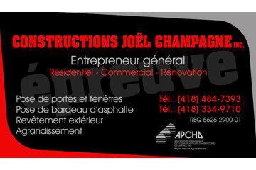 Constructions Joel Champagne inc.