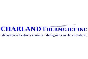 Charland Thermojet Inc in Sainte-Geneviève: Mélangeur et stations à boyaux