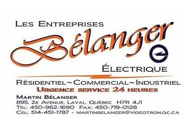 Entreprises Belanger Electriques à Laval: Les Entreprises Bélanger Électrique