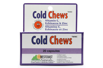 Westcoast Naturals in Richmond: Cold Chews 20 caps