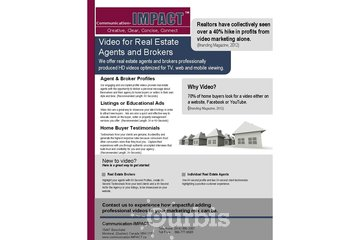 New Horizons Consulting - Communication-IMPACT à Montréal: Video Marketing for Real Estate Brokers
