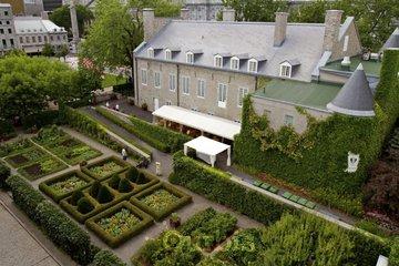 Château Ramezay - Historic Site and Museum of Montréal in Montréal: Jardin du Gouverneur