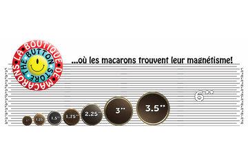 La Boutique de Macarons in Montréal: La Boutique de Macarons . Aimants personnalisés Montreal, Québec, Canada