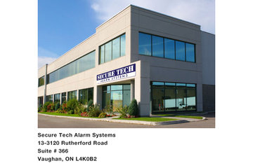 Secure Tech Alarm Systems Inc. in Vaughan: Securetech Alarm office