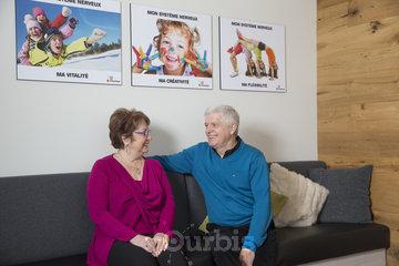 La Vie Chiropratique - Chiropraticien à Québec: Salle d'attente - La Vie Chiropratique