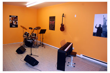 École Marseille Musique à Montréal: Studio A - École Marseille Musique (Métro Langelier)