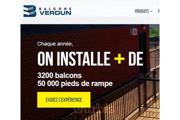 Balcons Verdun Saint-Léonard Montréal-Est