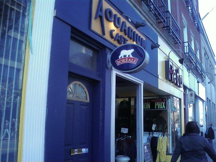 Aquarium caf bar montr al qc ourbis for Equipement de restaurant montreal