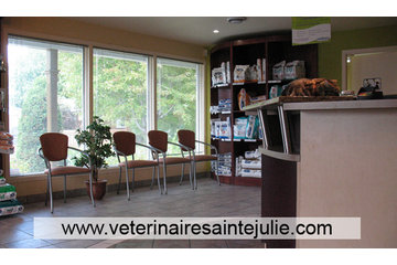 Clinique Vétérinaire des Hauts-Bois in Sainte-Julie: Aire de réception