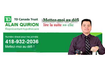 Alain Quirion représentant hypothécaire TD Canada Trust Québec