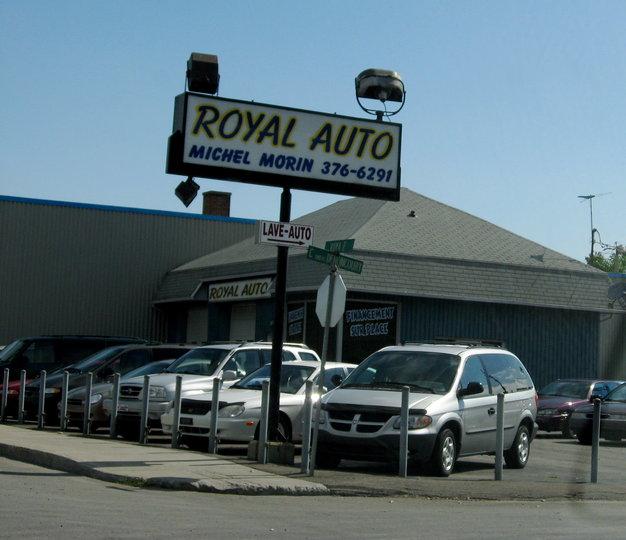 Garage royal auto trois rivi res qc ourbis for Garage royal auto