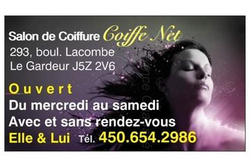 Salon De Coiffure Coiffe Net Elle & lui @ Repentigny (Offre de service: France Chaussé, Pigiste Coiffeuse. Médias et autres activités médiatiques) in Le Gardeur: Nos coordonnées