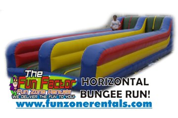 Fun Zone Party Rentals in Kamloops: Horizontal Bungee Run