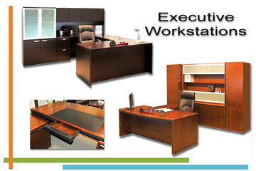 Techno Office Furnishings Ltd in Richmond: Executive Workstations