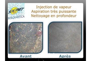 Solonet à Saint-Jean-sur-Richelieu: nettoyage de tapis