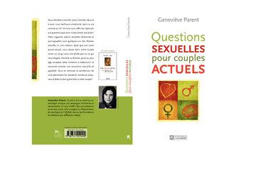 Geneviève Parent sexologue clinicienne et psychothérapeute in Montréal: Questions sexuelles pour couples actuels