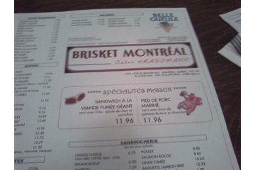 Briskets Restaurant à Montréal