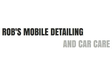 Rob's Mobile Detailing and Car Care