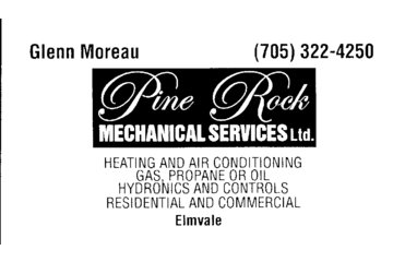 Pine Rock Mechanical Services in Elmvale