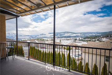 Adela's Bed and Breakfast in West Kelowna: Wonderful landscape view from our upper patio!
