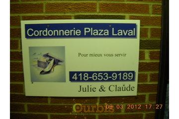 Cordonnerie Plaza Laval in Québec: NOTRE ENSEIGNE
