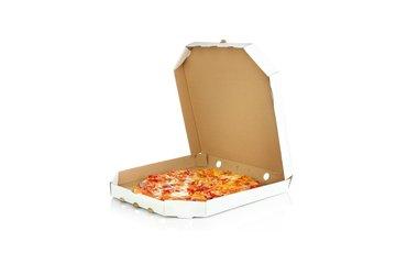 Al's Sousmarins in Montréal: Pizza à emporter