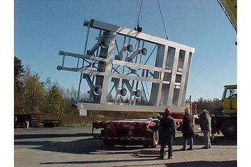 Produits D'Acier Métalpro Inc in Sainte-Anne-des-Plaines: Section de plancher de four mobile   Poids: 30 tonnes