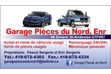 Garage Pieces Du Nord Enr