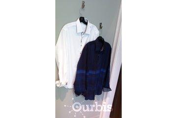 Johnmichael Menswear in Delta: Black or white?  Both please.
