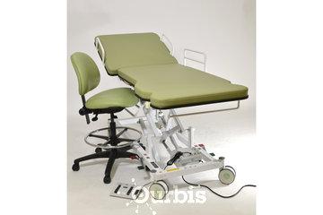 Ibiom Instruments à Sherbrooke: Civière d'écho ECHO-FLEX 4800-DO-26 + Chaise modèle 200