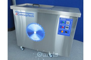 Conceptech I N D Inc à Terrebonne: Ultrasonic Saw Blades Cleaning System