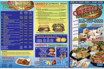 GREEKO'S Souvlaki & Pizza