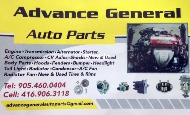 General Auto Parts >> Advance General Auto Parts Brampton On Ourbis